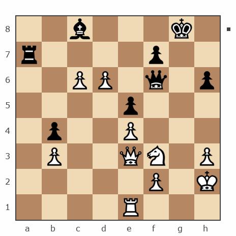Просмотр партии №7803693 - Слава 888 vs EvgenyGu